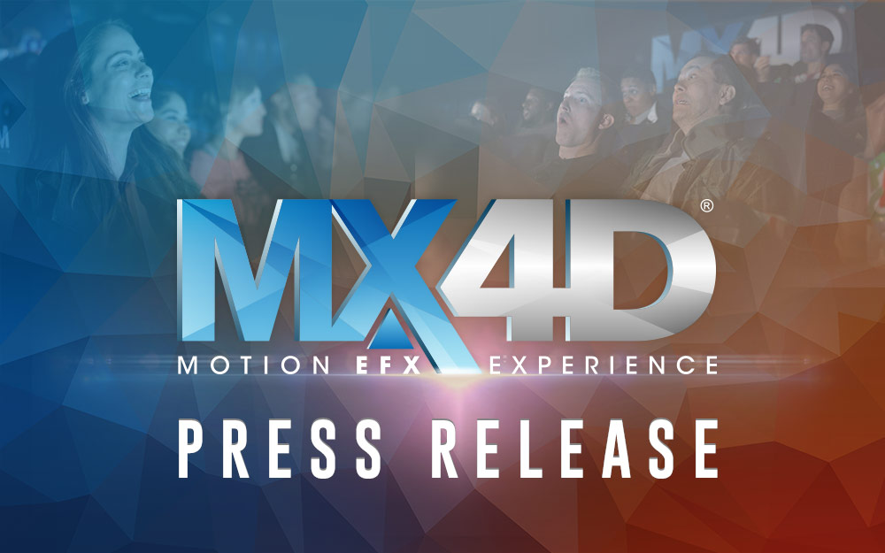 Sony Pictures Entertainment and MX4D Team Up for More Hit Movies in 2019