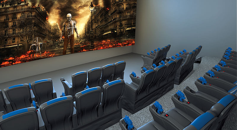 MX4D Extreme Interactive Gaming