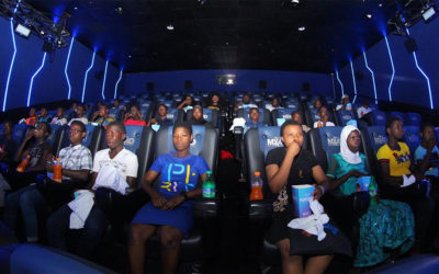 Partnering with FilmHouse Cinemas, the kids were given the chance to watch Jumanji: The Next Level in MX4D!