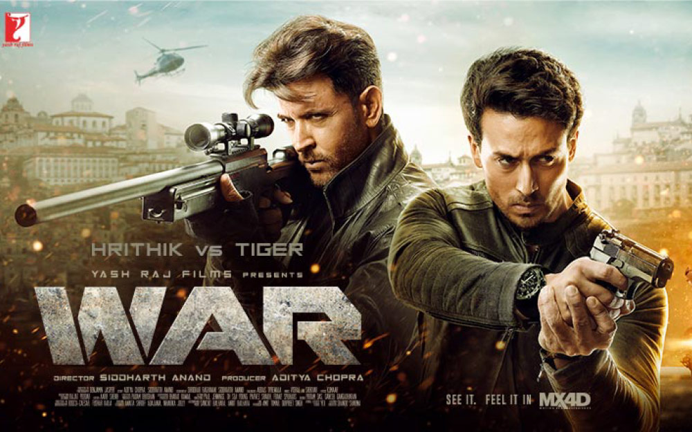 Yash Raj Films to Offer Bollywood Blockbuster WAR in MX4D EFX Format