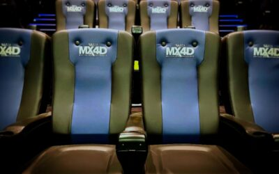 New MX4D Theater in Perpignan, France!