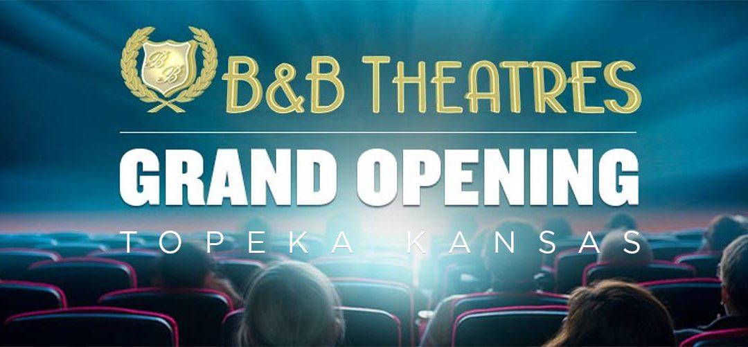 B&B Topeka KS Grand Opening and MX4D coverage